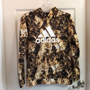 Adidas Boys Hoodie Large 14/16